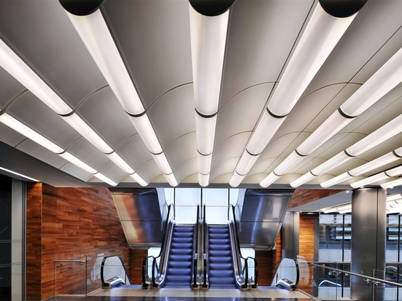 Bespoke metal ceilings